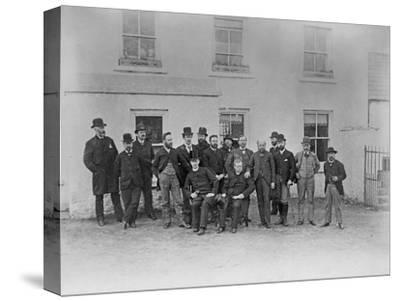 Group Photograph, Including Father Macfadden, Seated Front, Right, and an English Delegation, 1888