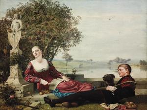 Heloise and Abelard by Robert Bateman