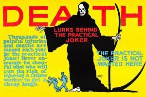 Death Lurks Behind The Practical Joker by Robert Beebe