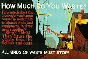 How Much Do You Waste? by Robert Beebe
