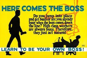 Learn To Be Your Own Boss! by Robert Beebe