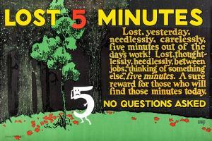 Lost 5 Minutes by Robert Beebe