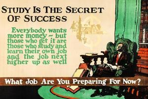 Study Of The Secret Of Success by Robert Beebe