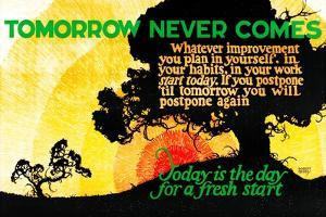 Tomorrow Never Comes by Robert Beebe