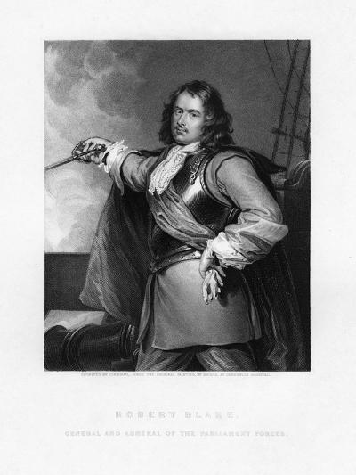 Robert Blake, English Admiral- Cochran-Giclee Print