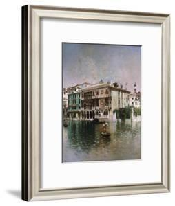 Venice, the Grand Canal, 1890 by Robert Blum