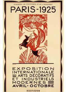 Paris Art Exposition, c.1925 by Robert Bonfils