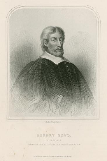 Robert Boyd of Trochrig--Giclee Print