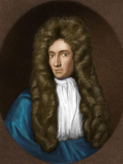 Robert Boyle, Irish Chemist-Maria Platt-Evans-Photographic Print