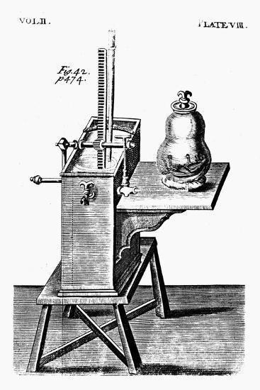 Robert Boyle's Second Air Pump, C1660--Giclee Print