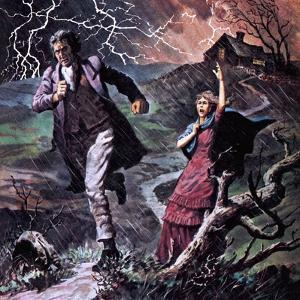 Heathcliff and Cathy, from the Novel Wuthering Heights by Robert Brook