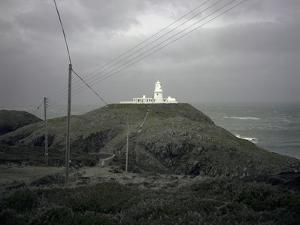 Lighthouse and Gales by Robert Brook