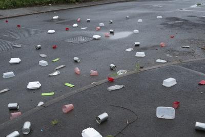 Litter on Road
