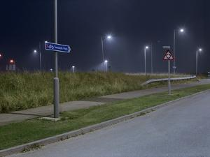 Roadside at Night by Robert Brook