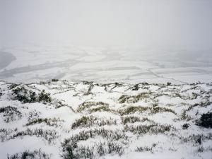 Snow on Shropshire Hills by Robert Brook