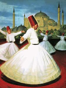 Whirling Dervishes by Robert Brook