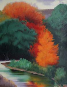 Fall Landscape by Robert Buffolini