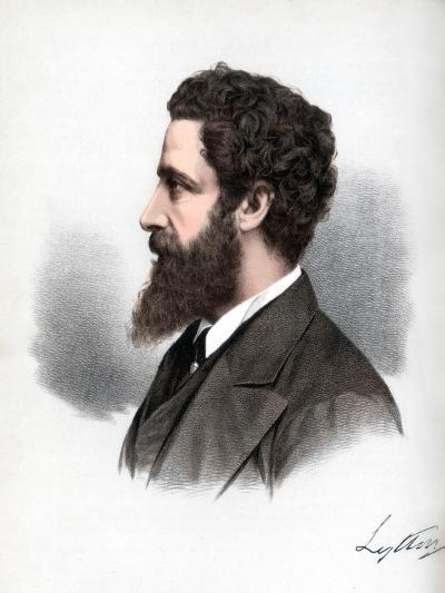 Robert Bulwer-Lytton, 1st Earl of Lytton, English Poet and Statesman, C1890-Petter & Galpin Cassell-Giclee Print
