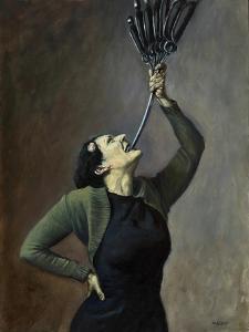Queen of Swords, 2005 by Robert Burkall Marsh