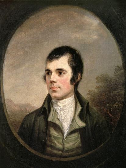 Robert Burns (1759-96), 1787-Alexander Nasmyth-Giclee Print