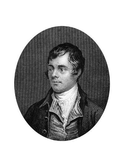 Robert Burns, Scottish Poet, 1877--Giclee Print