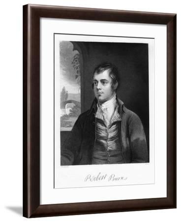 Robert Burns, Scottish Poet, Late 18th Century-Alexander Nasmyth-Framed Giclee Print