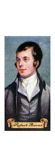 Robert Burns, taken from a series of cigarette cards, 1935. Artist: Unknown-Unknown-Giclee Print