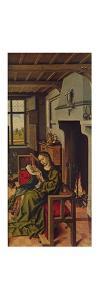 'Ala De Retablo (Santa Barbara)', 1438, (c1934) by Robert Campin