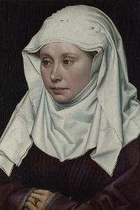 Portrait of a Woman, Ca 1435 by Robert Campin