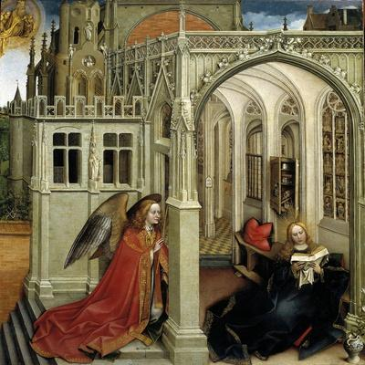 Robert Campin / The Annunciation, 1418-1419