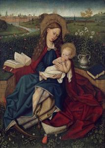 The Madonna of Humility by Robert Campin