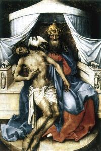 The Trinity, 14th Century by Robert Campin