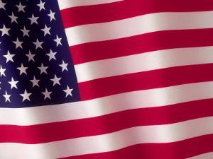 American Flag by Robert Cattan