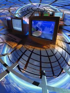 Internet World by Robert Cattan