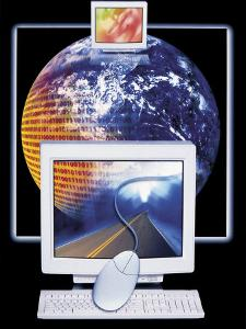 Networking Computers, Information Highway by Robert Cattan