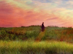 Pastoral Sunset by Robert Cattan