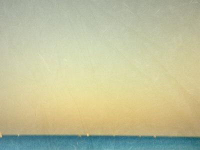 Sailboats under Pearl Sky