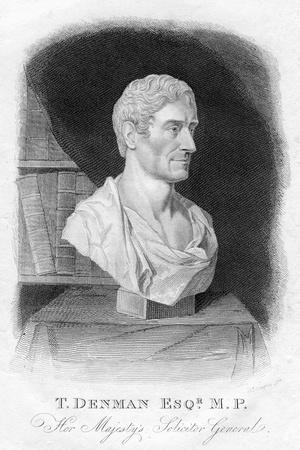 T Denman, Her Majesty's Solicitor General, 1820