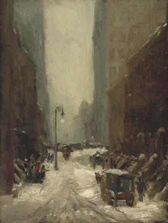 Snow in New York, 1902