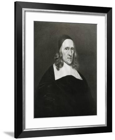 Robert Cromwell, Father of Oliver Cromwell, 17th Century-Robert Walker-Framed Giclee Print