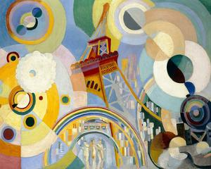 Air, Iron, and Water, 1937 by Robert Delaunay