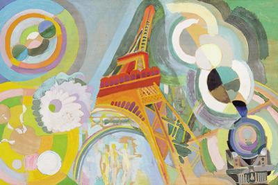 Air, Iron and Water, Study, 1937 by Robert Delaunay