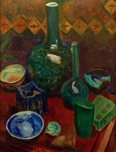 Blue Still Life, 1907/1908 by Robert Delaunay