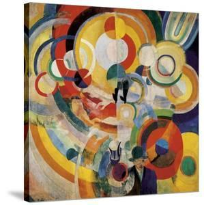 Carousel with Pigs by Robert Delaunay