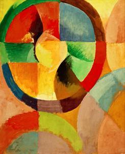 Circular Shapes, Sun No.1, 1912 by Robert Delaunay