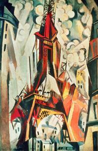 Eiffel Tower, 1910 by Robert Delaunay