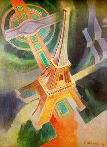 Eiffel Tower, 1928 by Robert Delaunay
