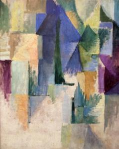 Fensterbild 1912-13 by Robert Delaunay