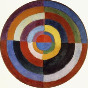 First Disc, 1912 by Robert Delaunay