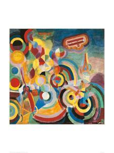 Homage to Bleriot by Robert Delaunay
